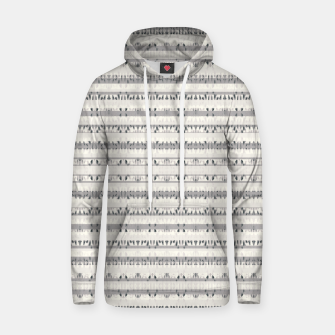 Thumbnail image of Mixed Gray Striped Ethnic Seamless Pattern Hoodie, Live Heroes