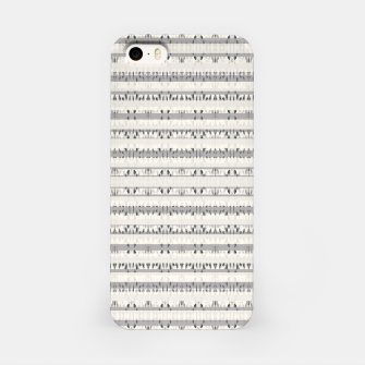 Thumbnail image of Mixed Gray Striped Ethnic Seamless Pattern iPhone Case, Live Heroes