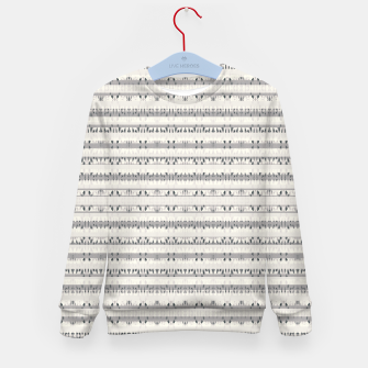 Thumbnail image of Mixed Gray Striped Ethnic Seamless Pattern Kid's sweater, Live Heroes