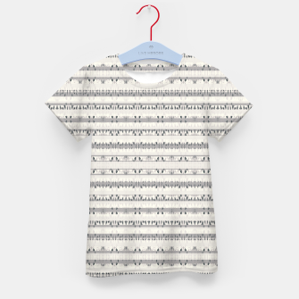 Thumbnail image of Mixed Gray Striped Ethnic Seamless Pattern Kid's t-shirt, Live Heroes