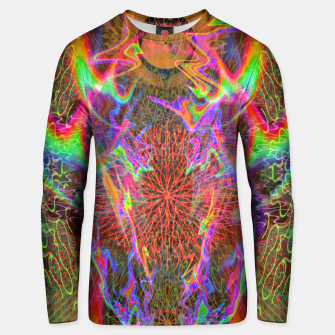 Thumbnail image of Kundalini Fired Up (psychedelic art, rainbow, fire) Unisex sweater, Live Heroes