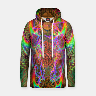 Thumbnail image of Kundalini Fired Up (psychedelic art, rainbow, fire) Hoodie, Live Heroes