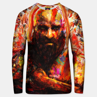 Thumbnail image of god of war Unisex sweater, Live Heroes