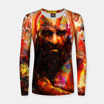 Thumbnail image of god of war Women sweater, Live Heroes