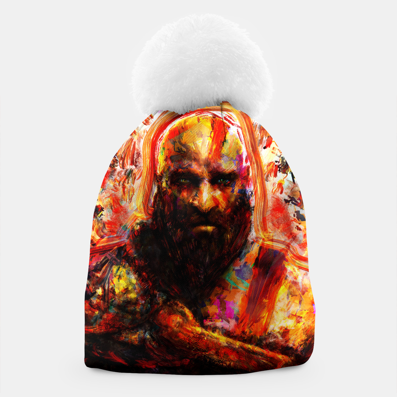 Image of god of war Beanie - Live Heroes