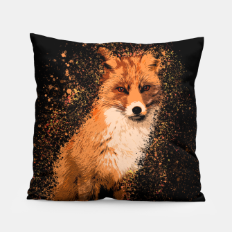 Thumbnail image of Wild Fox Pillow, Live Heroes