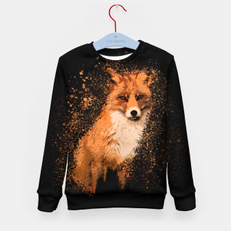 Thumbnail image of Wild Fox Kid's sweater, Live Heroes