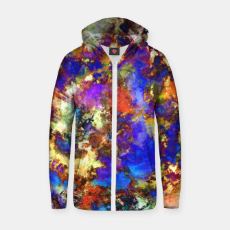Thumbnail image of Clearing the pathway Zip up hoodie, Live Heroes