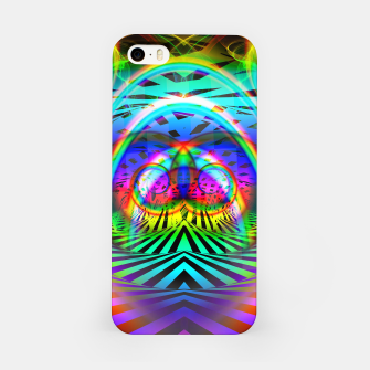 Thumbnail image of Optical Art Rainbow 6 (Gradient) iPhone Case, Live Heroes