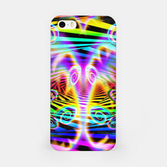 Thumbnail image of Optical Art Rainbow 7 (Gradient) iPhone Case, Live Heroes