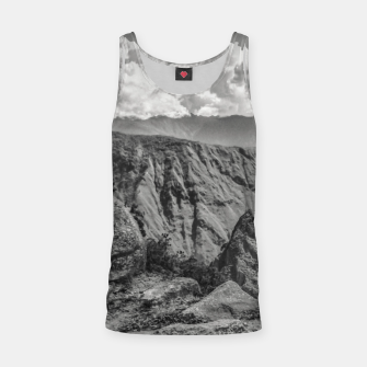 Thumbnail image of Machu Picchu Black and White Landscape Tank Top, Live Heroes