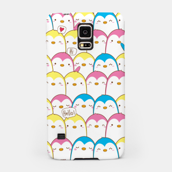 Thumbnail image of Pretty Penguins Samsung Case, Live Heroes