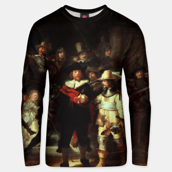 Thumbnail image of The Night Watch by Rembrandt van Rijn  Unisex sweater, Live Heroes