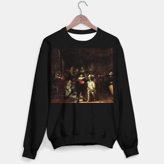 Thumbnail image of The Night Watch by Rembrandt van Rijn  Sweater regular, Live Heroes