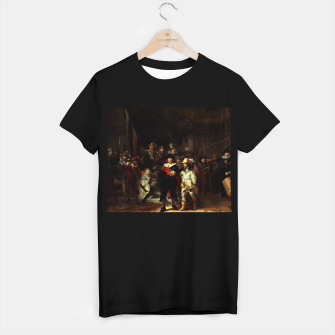 Thumbnail image of The Night Watch by Rembrandt van Rijn  T-shirt regular, Live Heroes