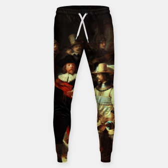 Thumbnail image of The Night Watch by Rembrandt van Rijn  Sweatpants, Live Heroes