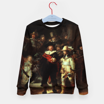 Thumbnail image of The Night Watch by Rembrandt van Rijn  Kid's sweater, Live Heroes