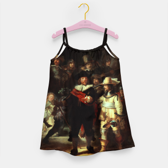 Thumbnail image of The Night Watch by Rembrandt van Rijn  Girl's dress, Live Heroes