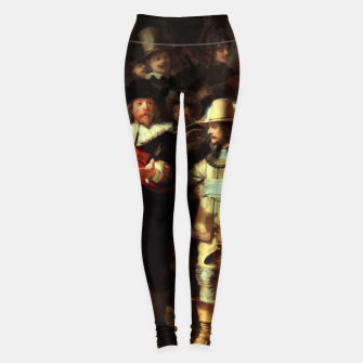 Thumbnail image of The Night Watch by Rembrandt van Rijn  Leggings, Live Heroes