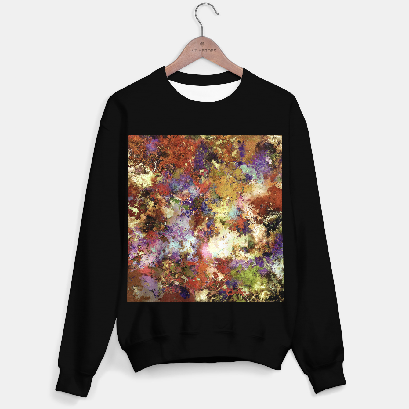 Image of A step at a time Sweater regular - Live Heroes
