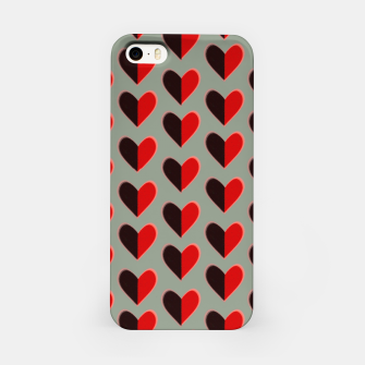 Thumbnail image of Two colour heart  Carcasa por Iphone, Live Heroes
