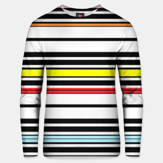 Thumbnail image of Colorful stripes lines Unisex sweater, Live Heroes