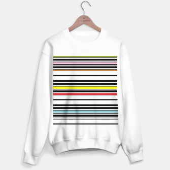Thumbnail image of Colorful stripes lines Sweater regular, Live Heroes