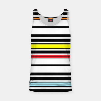 Thumbnail image of Colorful stripes lines Tank Top, Live Heroes