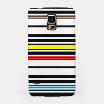 Thumbnail image of Colorful stripes lines Samsung Case, Live Heroes