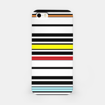 Thumbnail image of Colorful stripes lines iPhone Case, Live Heroes
