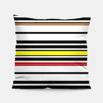 Thumbnail image of Colorful stripes lines Pillow, Live Heroes