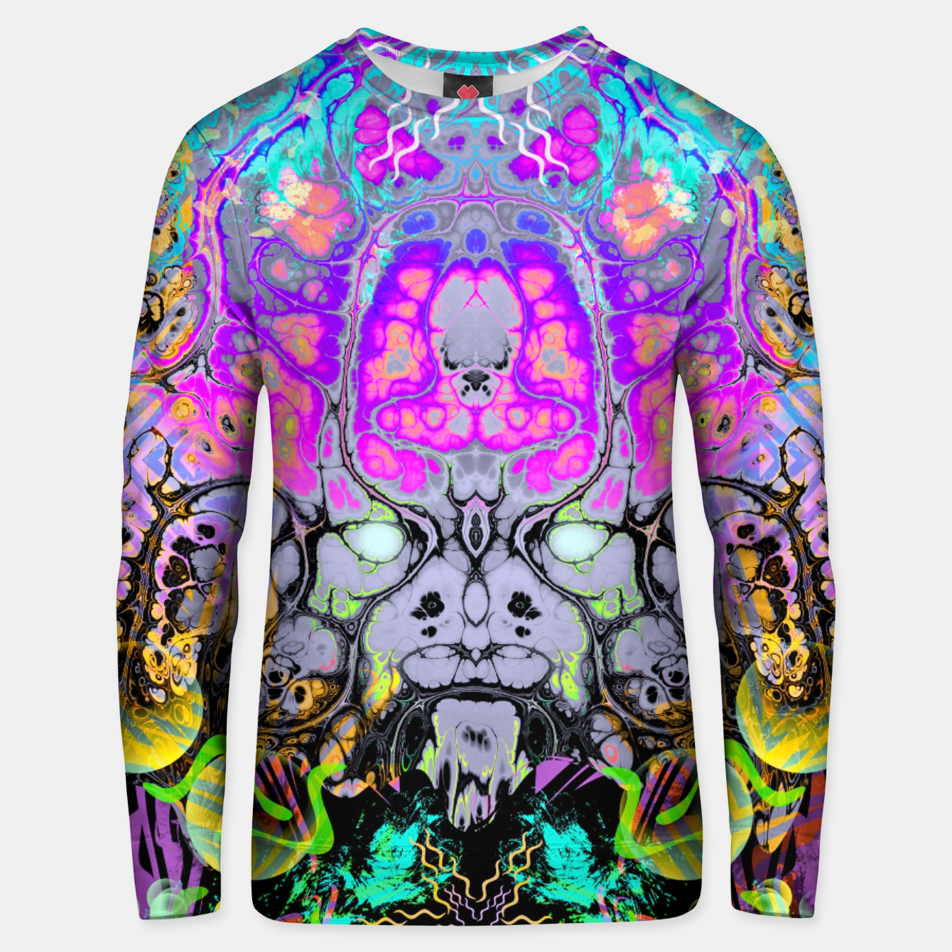 Image of Pastel Acid Visions 1 Unisex sweater - Live Heroes