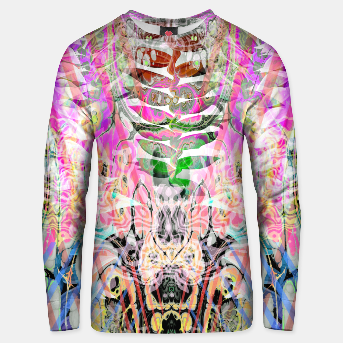 Image of Pastel Acid Visions 3 Unisex sweater - Live Heroes
