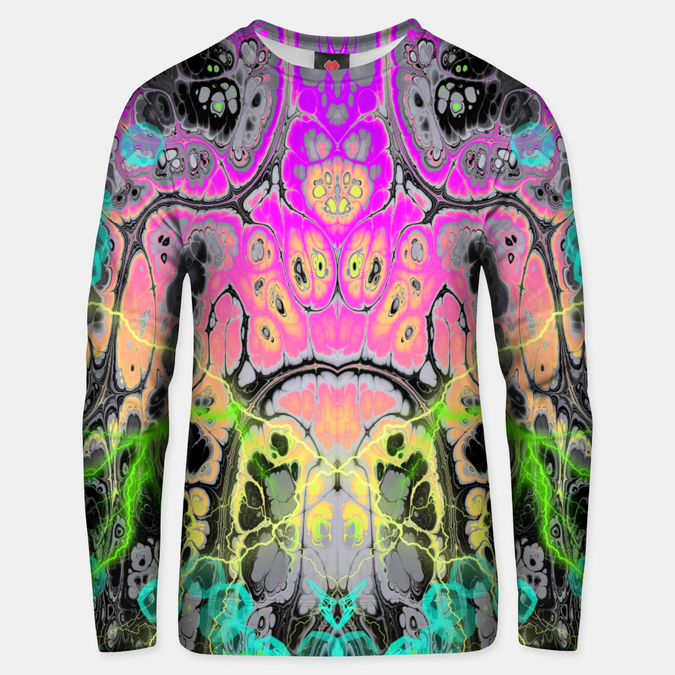 Image of Pastel Acid Visions 4 Unisex sweater - Live Heroes