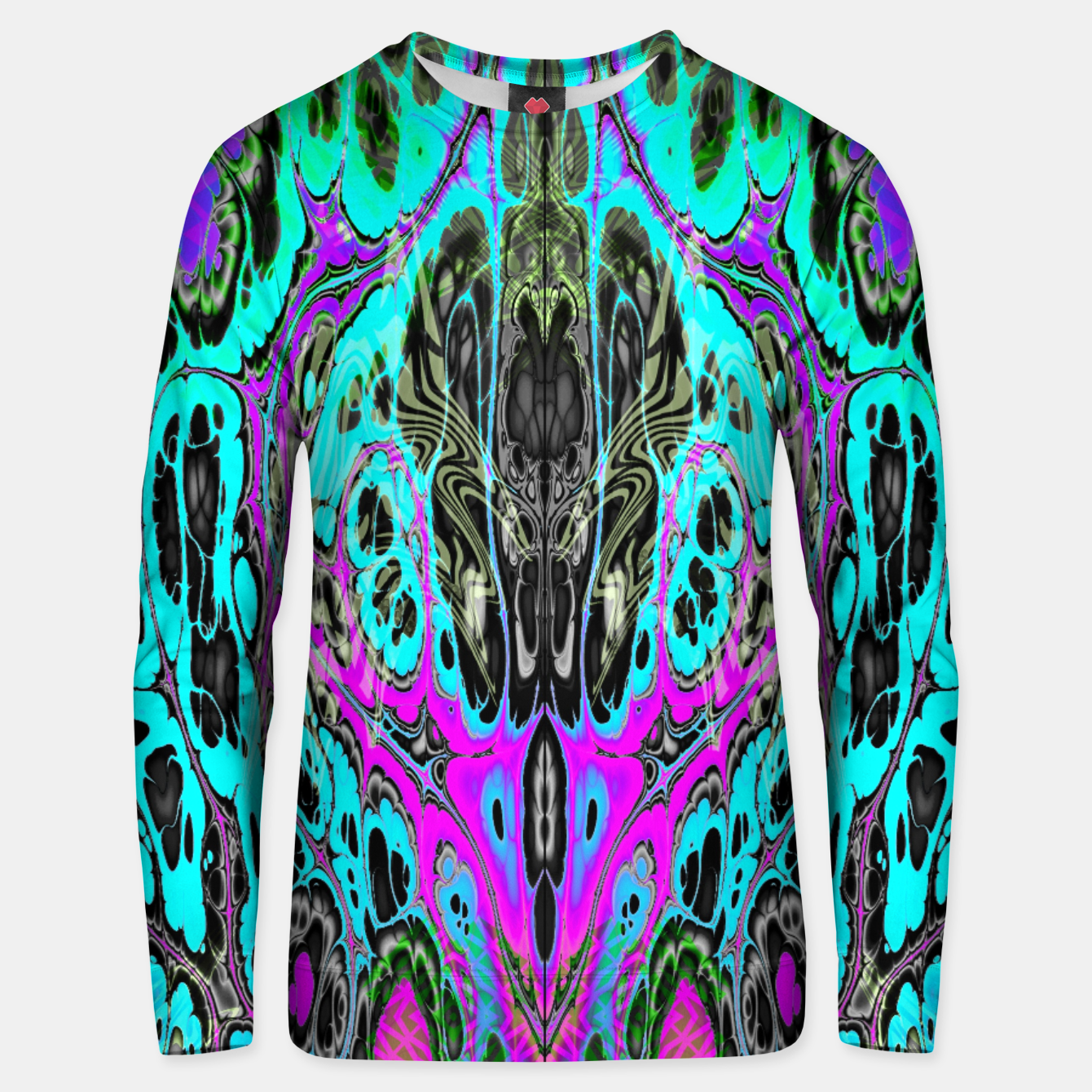 Image of Pastel Acid Visions 5 Unisex sweater - Live Heroes