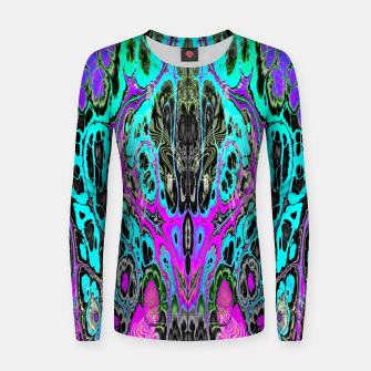 Thumbnail image of Pastel Acid Visions 5 Women sweater, Live Heroes