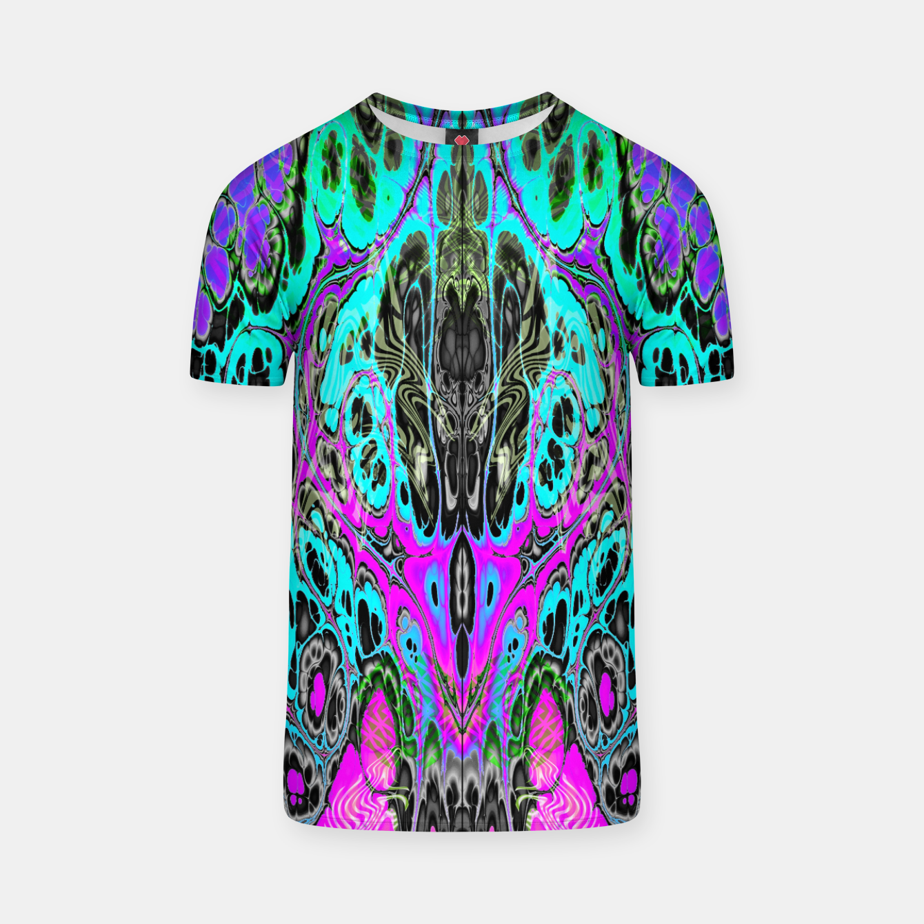 Image of Pastel Acid Visions 5 T-shirt - Live Heroes