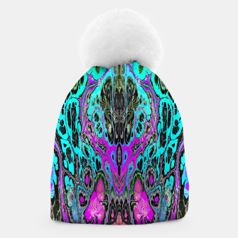 Thumbnail image of Pastel Acid Visions 5 Beanie, Live Heroes