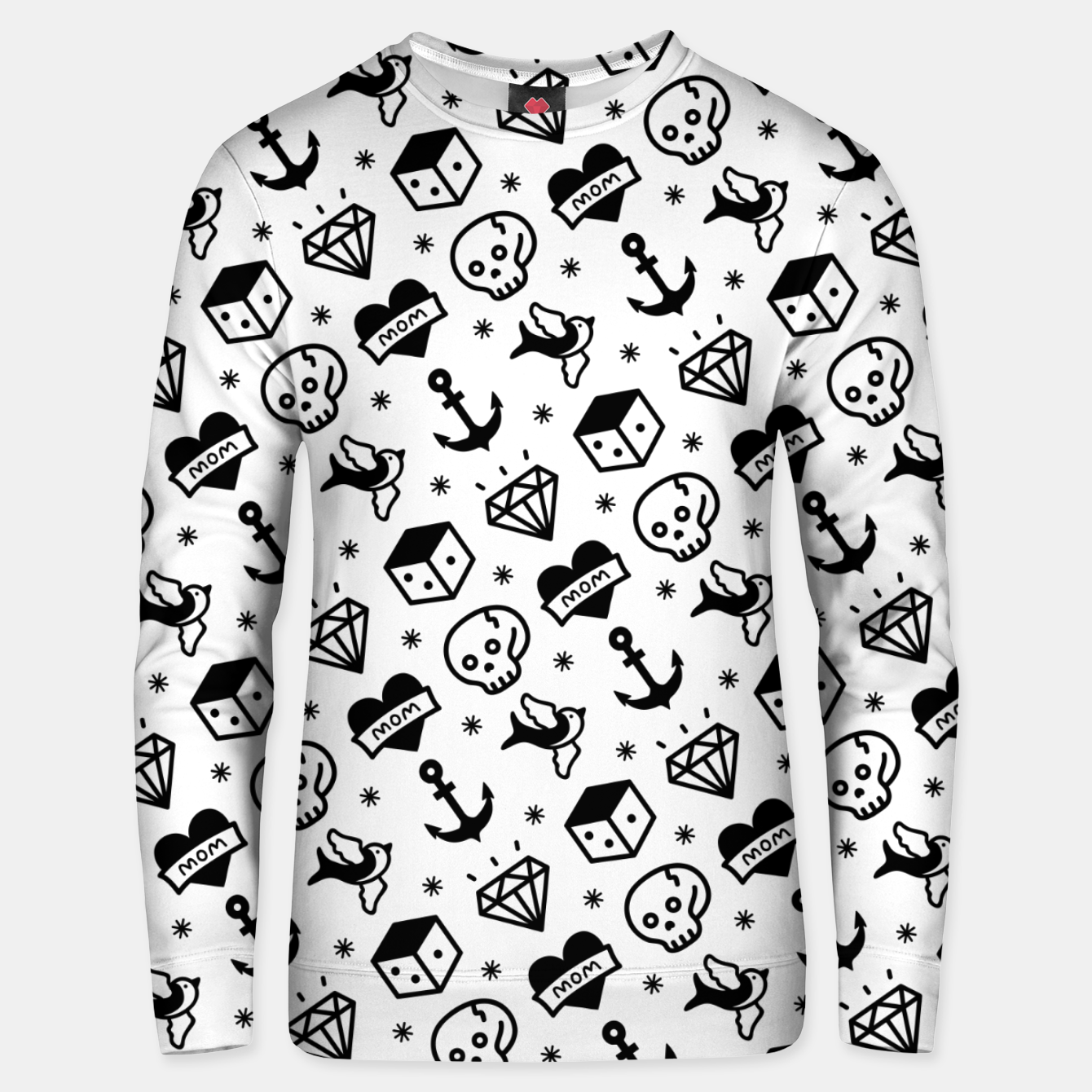 Image of Old School Tattoo  Unisex sweater - Live Heroes