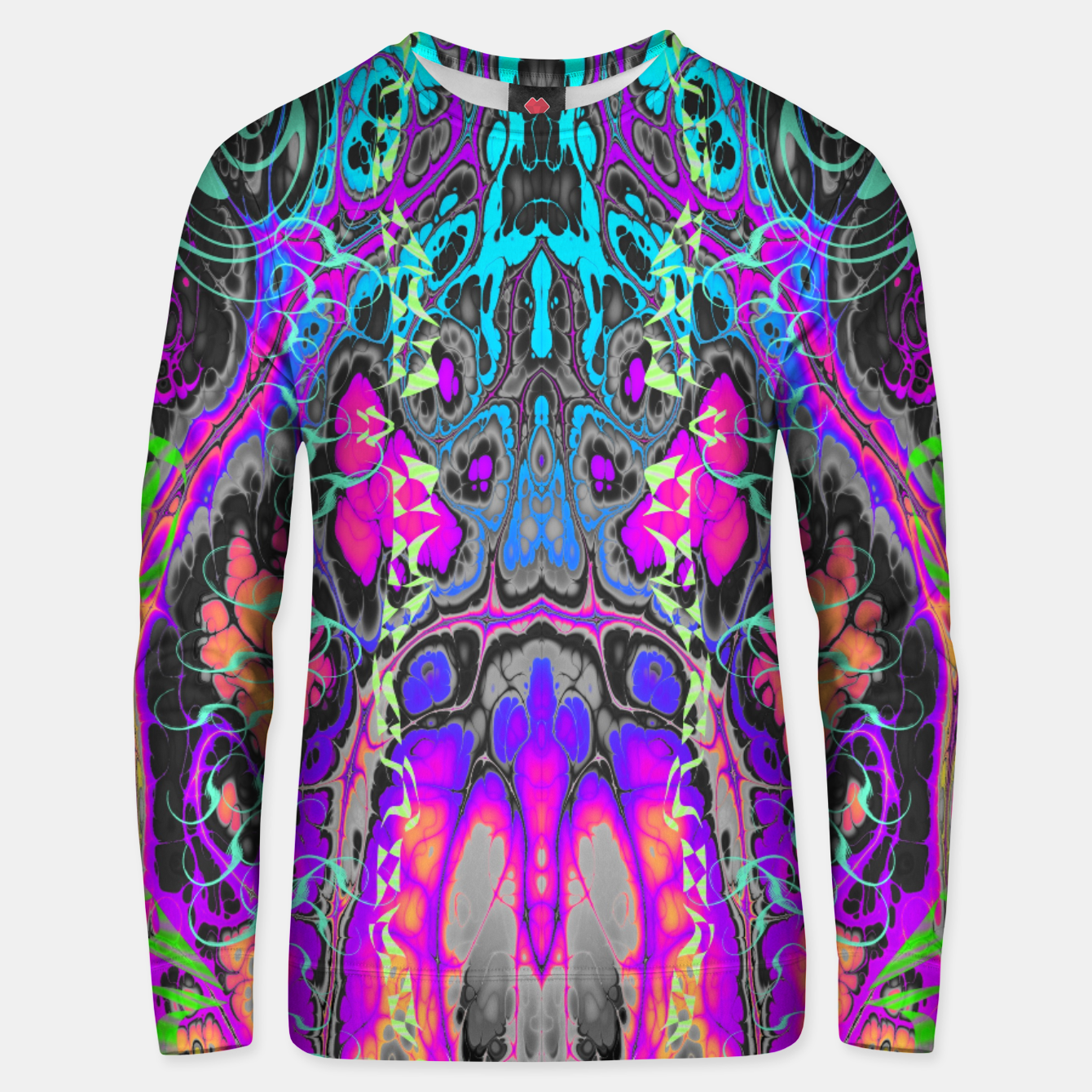 Image of Pastel Acid Visions 6 Unisex sweater - Live Heroes
