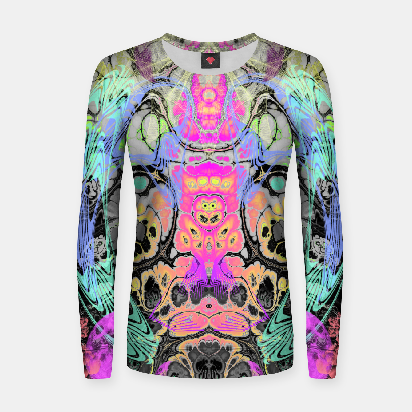 Image of Pastel Acid Visions s 7 Women sweater - Live Heroes