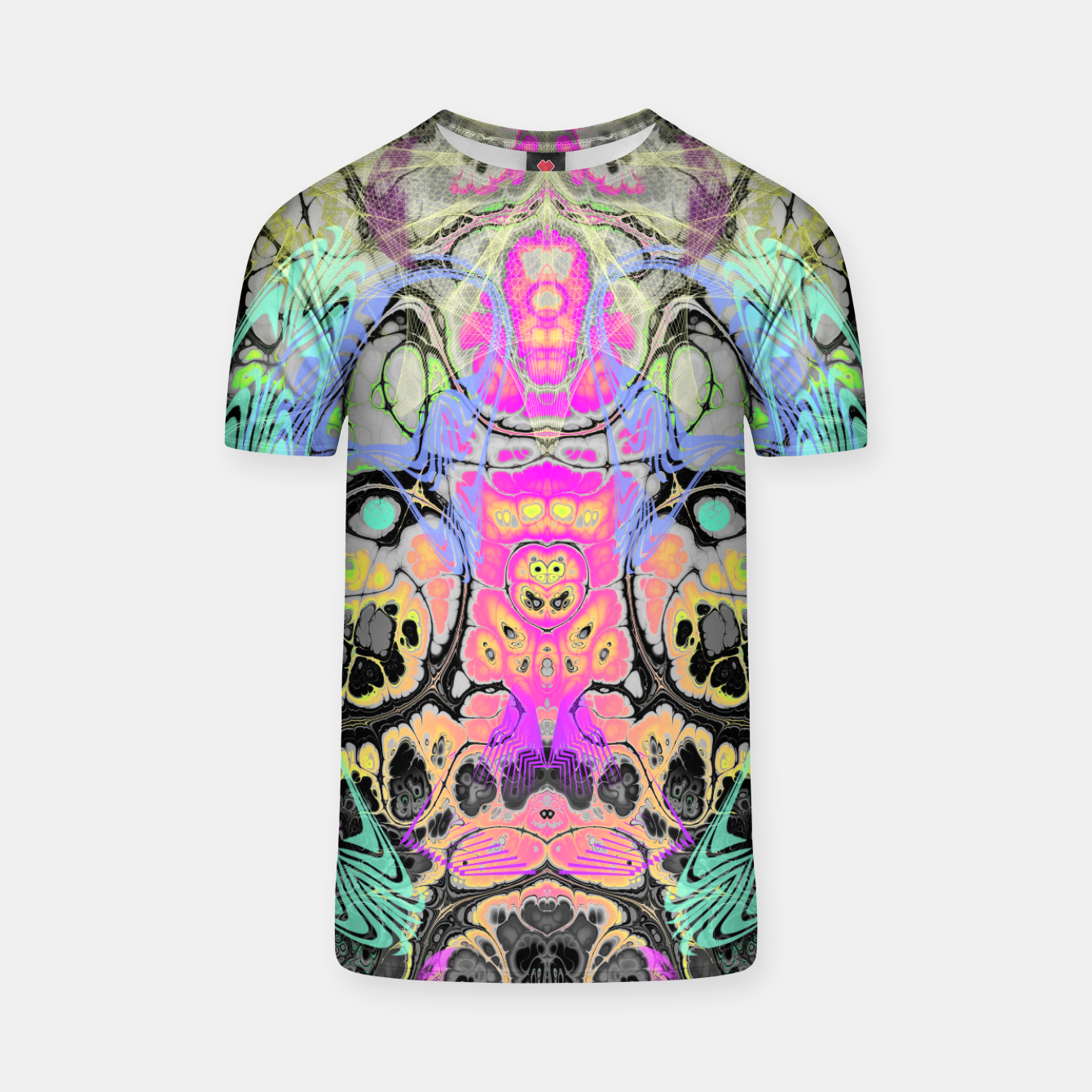 Image of Pastel Acid Visions s 7 T-shirt - Live Heroes