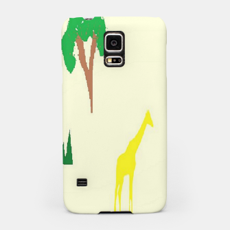 Thumbnail image of Giraffe and tree pattern Samsung Case, Live Heroes