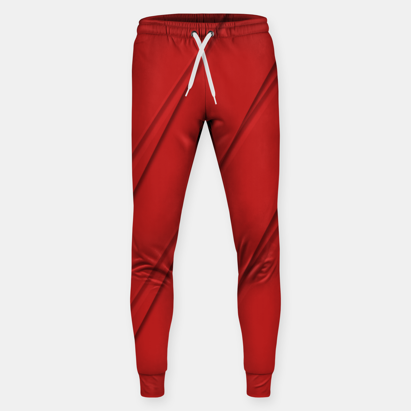 Image of Print Red Pattern Design Sweatpants - Live Heroes