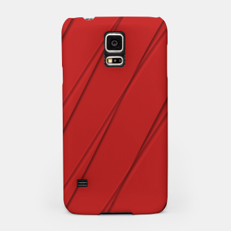 Thumbnail image of Print Red Pattern Design Samsung Case, Live Heroes