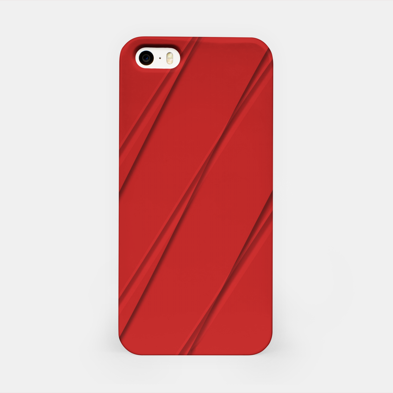 Image of Print Red Pattern Design iPhone Case - Live Heroes