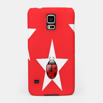 Thumbnail image of Ladybugs in stars Samsung Case, Live Heroes