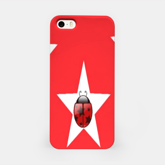 Thumbnail image of Ladybugs in stars iPhone Case, Live Heroes
