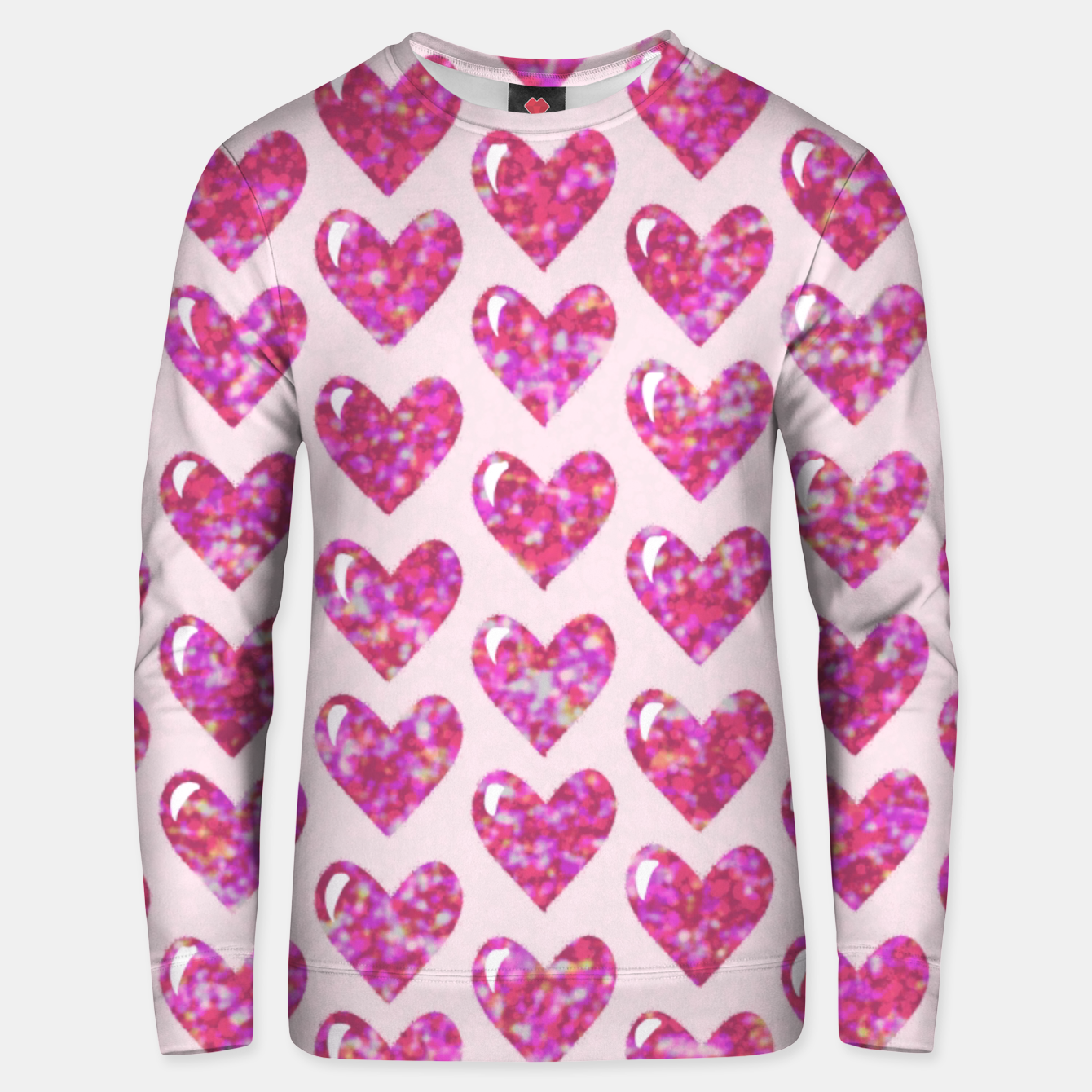 Image of Pink Bright Hearts  Sudadera unisex - Live Heroes