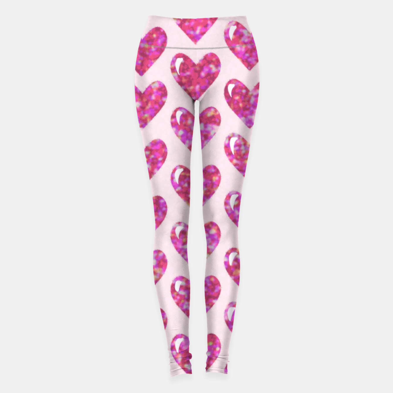 Image of Pink Bright Hearts  Leggings - Live Heroes